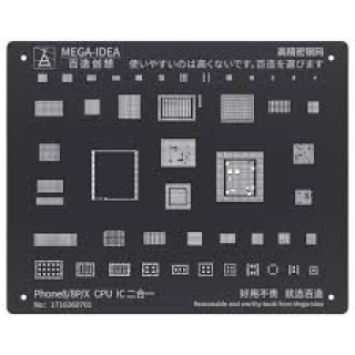 Stencil Phone 8/8P CPU & IC